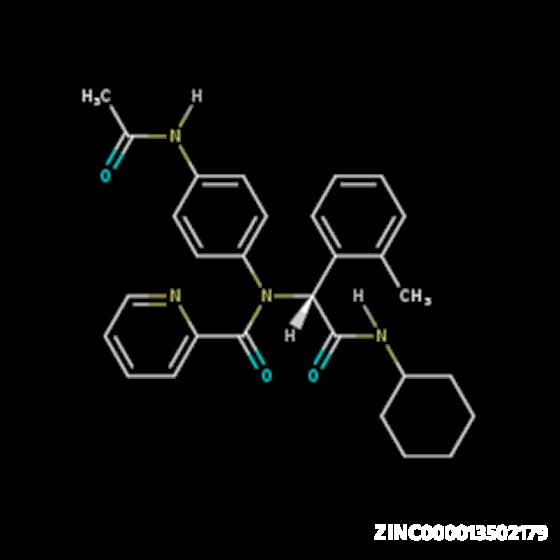 Molecule ZINC000013502179: COVID-19 Virtual Screening Result