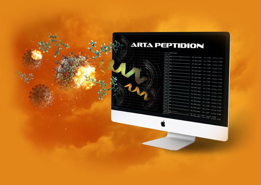 Arta peptidion virtual screening for anti COVID-19 drugs